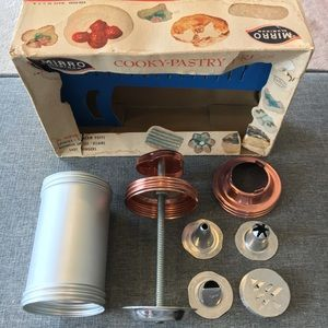 Mirro Aluminum Cooky Pastry Press EUC VINTAGE